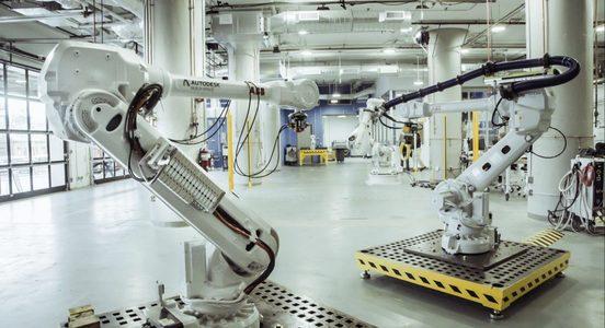 Build space robot
