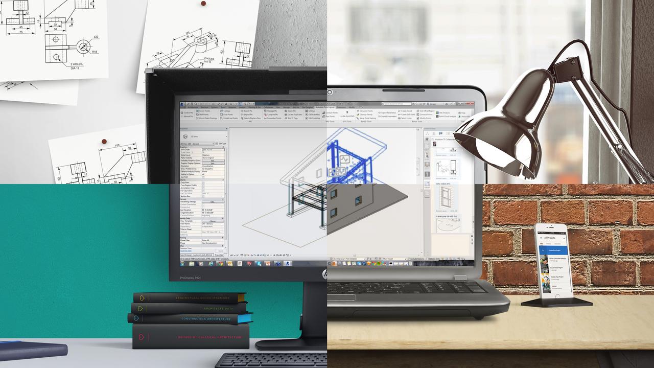 A360 collaboration for revit desk