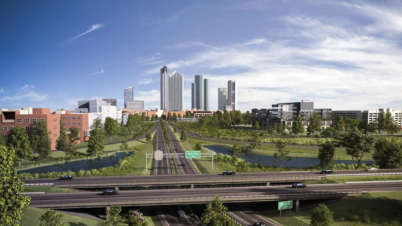 Bim city infrastructure 01