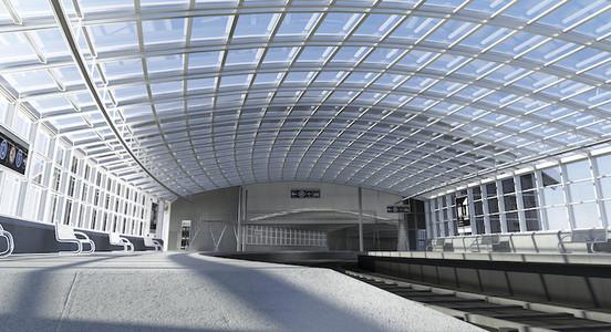 Autocad events campaign train station